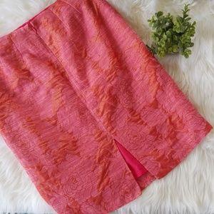 Ellen Tracy Rose skirt 4